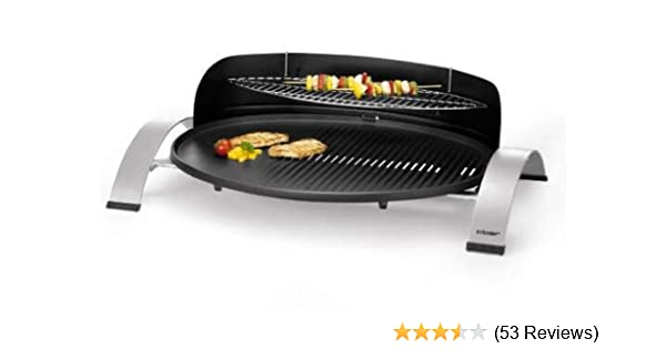 Bester Elektrogrill Gratis : Cloer 6589 barbecue elektrogrill schwarz: amazon.de: garten