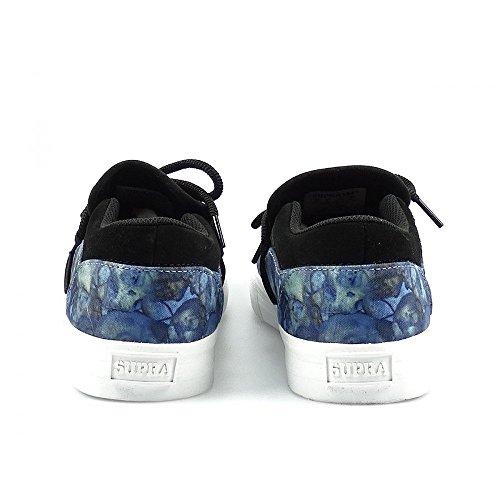 Supra - Cuba, Sneaker Basse Uomo Imprimé Lévitation Bleu - Blanc