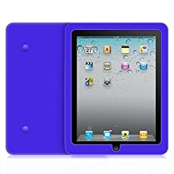 G-HUB® - iPad 1 Tablet Case - Protectve Silicone Gel Soft Cover Case for 1st Generation iPad - Blue