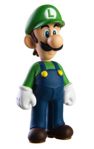 Super Mario 12cm LUIGI Figura de Juguete Sombrero Verde