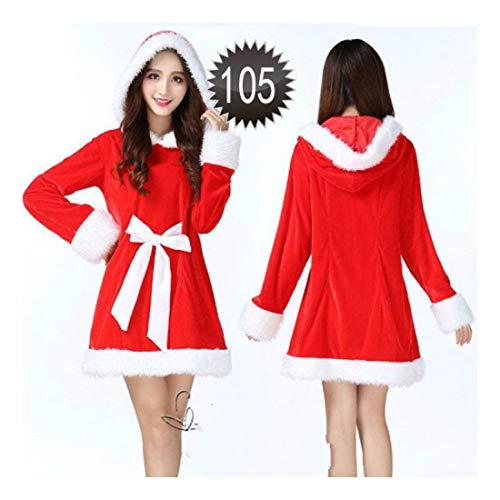 Santa Kostüm Weiblich - SDLRYF Weihnachtsmann Kostüm Weihnachten Kostüm Weiblichen