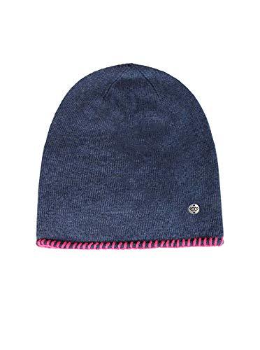 Zwillingsherz Slouch-Beanie-Mütze mit Kaschmir - Hochwertige Strickmütze für Kinder Baby-s Mädchen Jungen - Hat - Unisex - warm und weich im Sommer Herbst und Winter von Cashmere Dreams blau