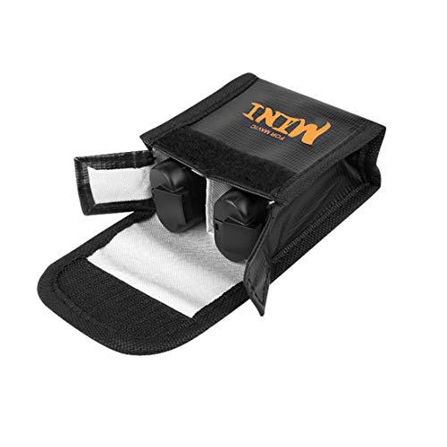 Bolsa de Almacenamiento Protectora de Batería LiPo Safe Bag a Prueba de Explosiones Compatible con dji Mavic Mini Battery (A)