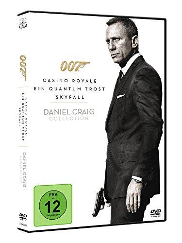 James Bond 007 - Casino Royale / Ein Quantum Trost / Skyfall [3 DVDs]