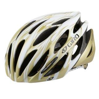 Giro 200024023 Saros 10 Casque de vélo Blanc matt/Or flame S (51-55cm)