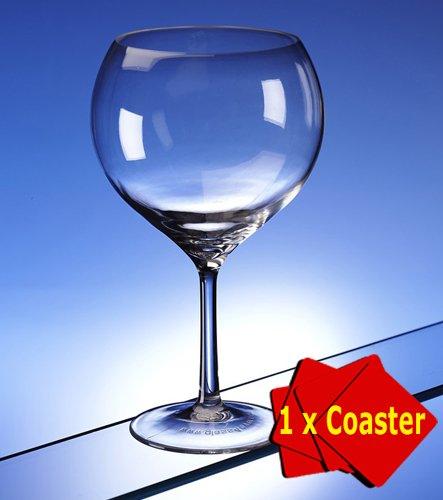 Copa de ginebra de policarbonato irrompible ultra premium. Paquete de 1 unidad. Capacidad: 700 ml Ideal para uso interior o exterior, de plástico irrompible. Transparente, se puede lavar en lavavajillas. Ideal para barbacoas, acampar, piscina, alternativa segura al cristal sin compromiso en calidad y sensación.