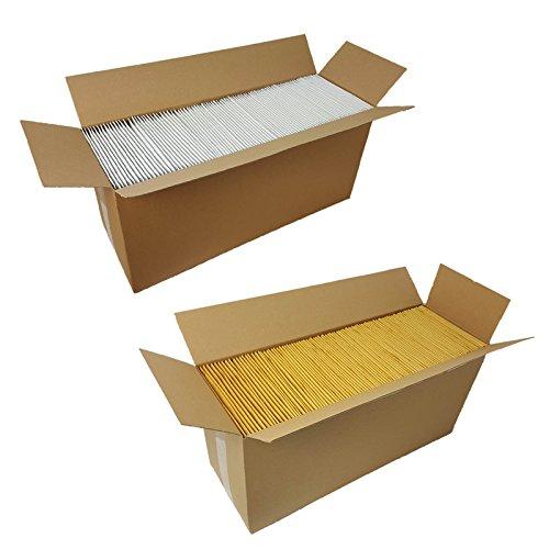 50 Luftpolstertaschen braun A1 Größe 120x175mm DIN A6 Luftpolsterumschläge Luftpolsterversandtaschen verpacking
