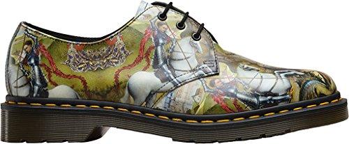 da1ffaa995e Dr. Martens 1461 Noir Fl Cascade Split Noir 3 Trous Chaussures D hiver  21.765 ...