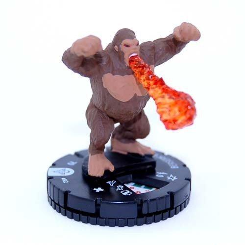 Preisvergleich Produktbild Yu-gi-oh Series 1 Heroclix #002 Berserk Gorilla Figure Complete with Card by WizKids