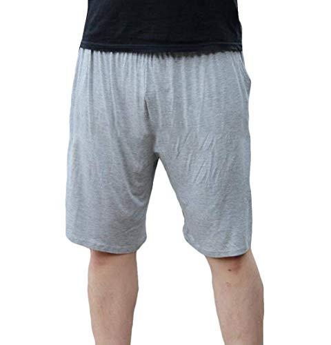 Yeirui Men Workout Shorts Classic-Fit Sport Big & Tall Shorts Sweatpants 1 US 3XL Classic Pleated Chino