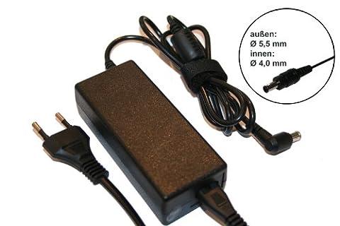 vhbw 220V Notebook Laptop Netzteil für Samsung N150 Endi Plus, N150 Plus, N210, N220, N230, N250, N310, N510 wie AD-6019, AD-4019R, PA-1400-14.