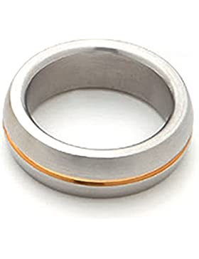 Amazing Goldlinie Magnetring bicolor massiv Energetix 4you 2143 ähnlich 366 nur ohne Crystal - Größe 16 bis 21...