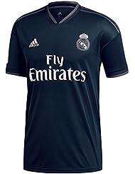 Adidas H GK JSY Camiseta Real Madrid CF Temporada 2017/2018, Hombre, Verde (Vertra / Blanco), L amazon el-gris Primavera/Verano