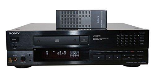 Sony CDP-X333ES CD Spieler in schwarz (Cd Es Sony Player)