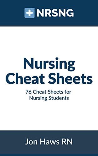 Nursing Cheat Sheets: 76 Cheat Sheets for Nursing Students (English Edition) (Drug Nursing Cards)