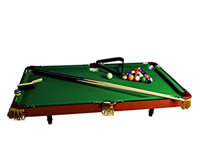 Mini table de billard en bois 90 cm x 50 cm