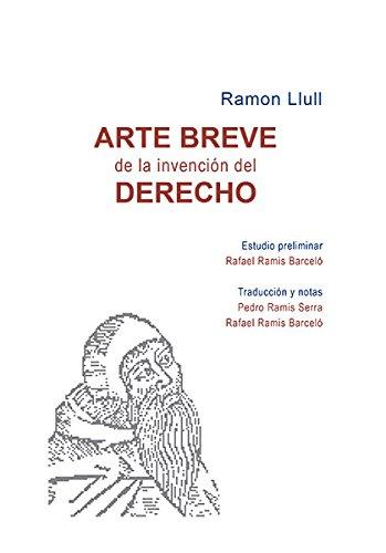 Arte breve de la invención del derecho por Beato Ramón Llull - Beato -