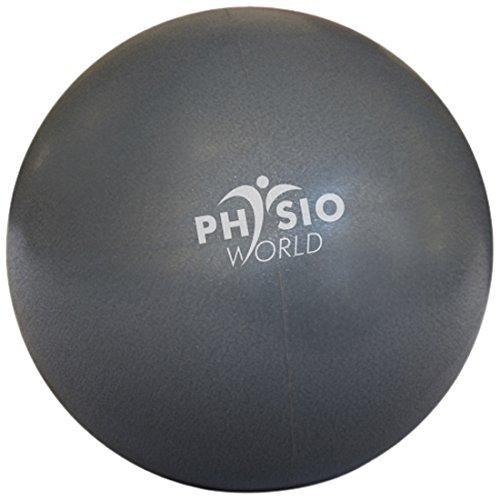 "PhysioWorld Pilates Ball 8"" - Graphite"
