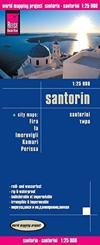 Santorin : 1/25 000