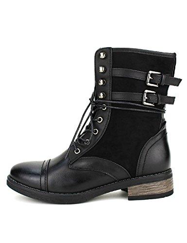 Cendriyon Bottine Montante ESTEBANE Mode Chaussures Femme Noir