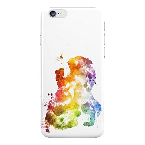 """Fan Art Telefon Hülle/Case Gel TPU Abdeckung für iPhone 6 / 6s Plus (5.5"""") mit Display Schutz / EJC Avenue / Cinderella Die Schöne und das Biest"""