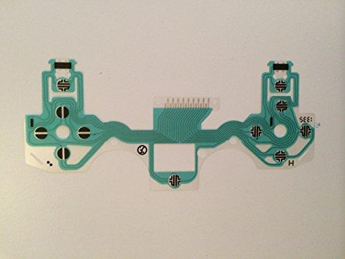 Preisvergleich Produktbild RanStart leitfähiger-Tastatur, Reparaturset für PlayStation 4 PS4 DualShock 4 Controller