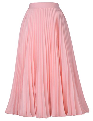 Summer A-Line Skirt Pleated Maxi Skirt Stylish Skirt for sale  Delivered anywhere in UK