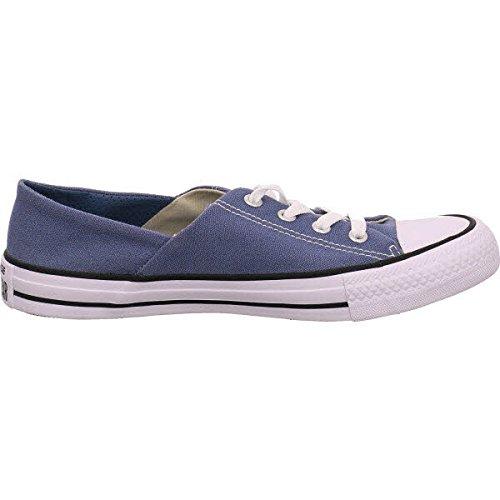 CONVERSE - CTAS CORAL OX 555896C - lemon haze Blau