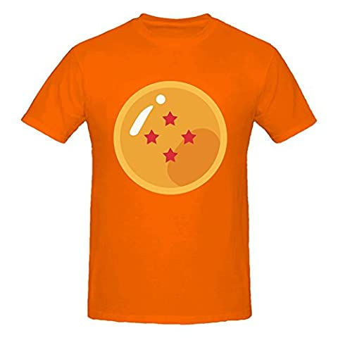 Four Star Dragon Ball Graphic Design Men's T-Shirt Large