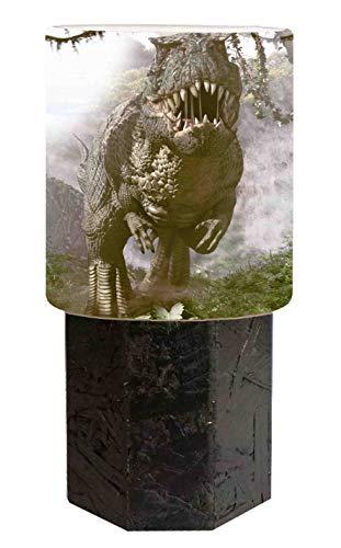 Abat jour schwarz Dinosauro T Rex 5