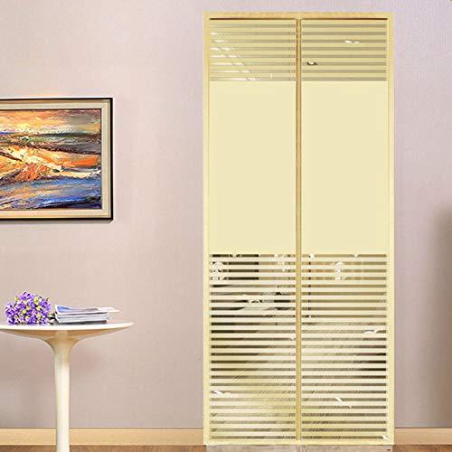 AINILX Magnetic Fly Screen Door Magnetischer Fliegen-Insektenschutzgitter Türgitter-Vorhang Einfache Montage ohne BohrenG_ 90 * 200