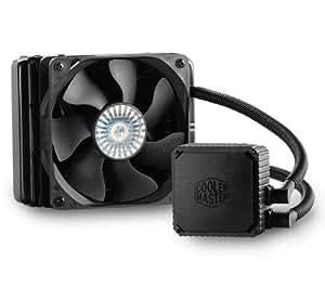 Cooler Master Seidon 120V - eaux et gaz réfrigérants (Aluminium, Noir)