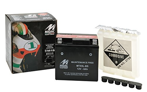 BATTERIA MIDAC MTX5L-BS