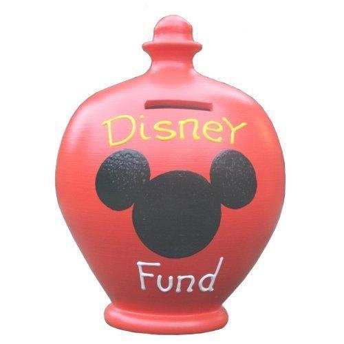 Hucha romper - Terramundi Hucha - Rojo Disney Fondo