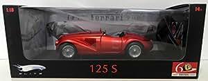 Elite - Véhicule Miniature 1/18 - Ferrari 125S 60ème Anniversaire