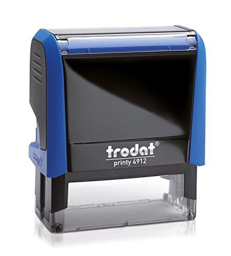 trodat Textstempelautomat Printy 4912 4.0, blau VE = 1