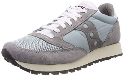 Saucony Jazz Original Vintage, Sneaker Unisex - Adulto, Grigio (Wild Dove/Grey 5), 45 EU