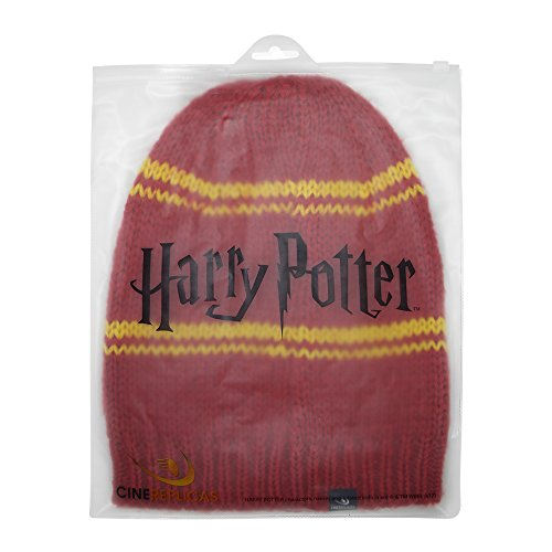 Harry-Potter-Beanie-Hat–Adult–Authentic-Harry-Potter-License-from-Cinereplicas–With-Zipper-Bag