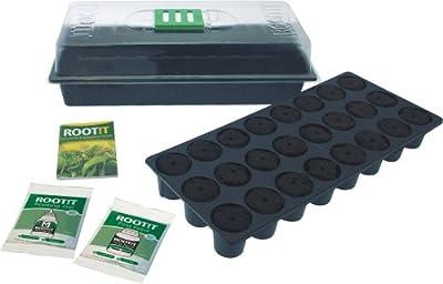 ROOT !T 12-550-130 Fensterbank-Anzuchtset von ROOT !T bei Du und dein Garten