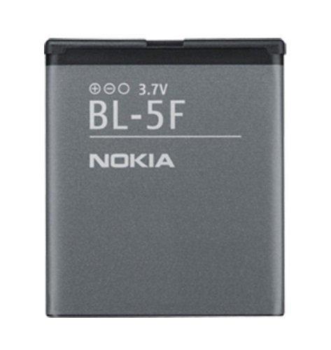 Nokia-TPC© Original-Akku BL-5F für 6210Navigator, 6290, E65, N93i, N95, N96, 950mAh, Bulk (Bulk N Akku)