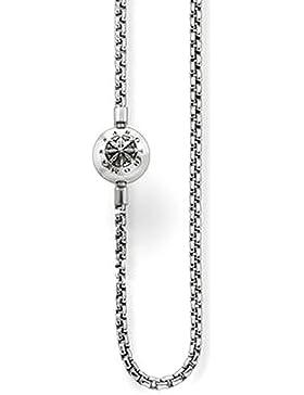 Thomas Sabo Halskette geschwärzt für Karma Beads KK0002-001-12