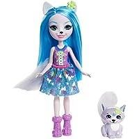 Enchantimals - Muñeca Winsley Wolf, (Mattel FRH40)