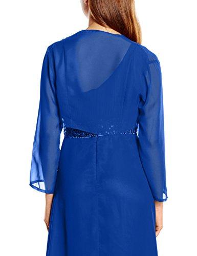 Astrapahl Damen Bolero Jacke für Festliche Anlässe in Verschiedenen Farben Blau (Blau)