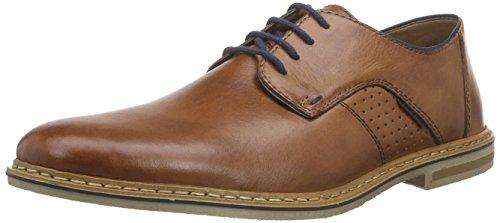 Rieker 14525 Lace-up-men, Derby homme Marron - Braun (brandy/navy / 24)