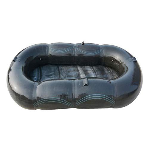APXZC Aufblasbare kajak, stabile langlebige kann Falten, pannensichere PVC Material, passend für Outdoor fischerboot Reise Abenteuer -