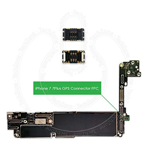 Logic Board 3D Touch Home Button FPC Connector Terminal J3801 for Apple iPhone 7 & 7 Plus - Logic Board