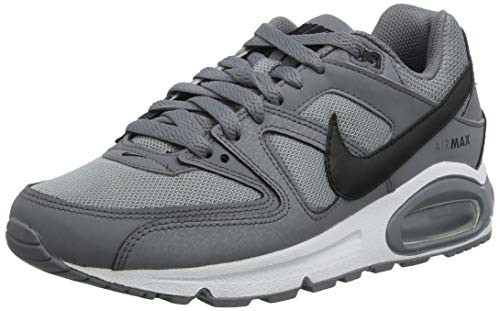 Nike Herren AIR MAX Command Laufschuhe, Grau (Cool Grey/Black/White 012), 41 EU