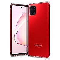 Caseology ACS00844 Samsung Galaxy Note 10 Lite Cep Telefonu ile Uyumlu Kılıfı Solid Flex Crystal Clear