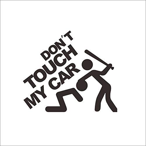 dalongshan Wandaufkleber Warnung Nicht Mein Auto Berühren Aufkleber Vinyl Carved Auto Aufkleber Großhandel Wasserdicht Können Entfernt Werden