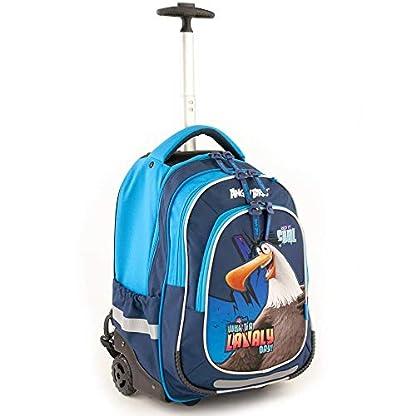 Angry Birds 19AB-201-EI – Mochila, 48 cm, 32 L, diseño de Eagles Island